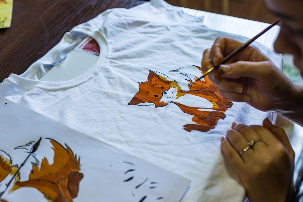 Майстер-клас розпис футболок та сумок