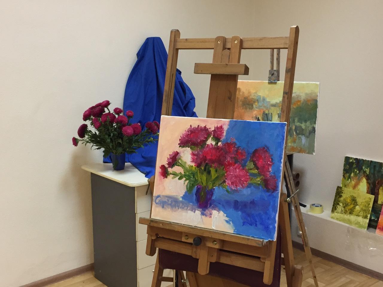 Курс по живописи с Татьяной Бражкиной