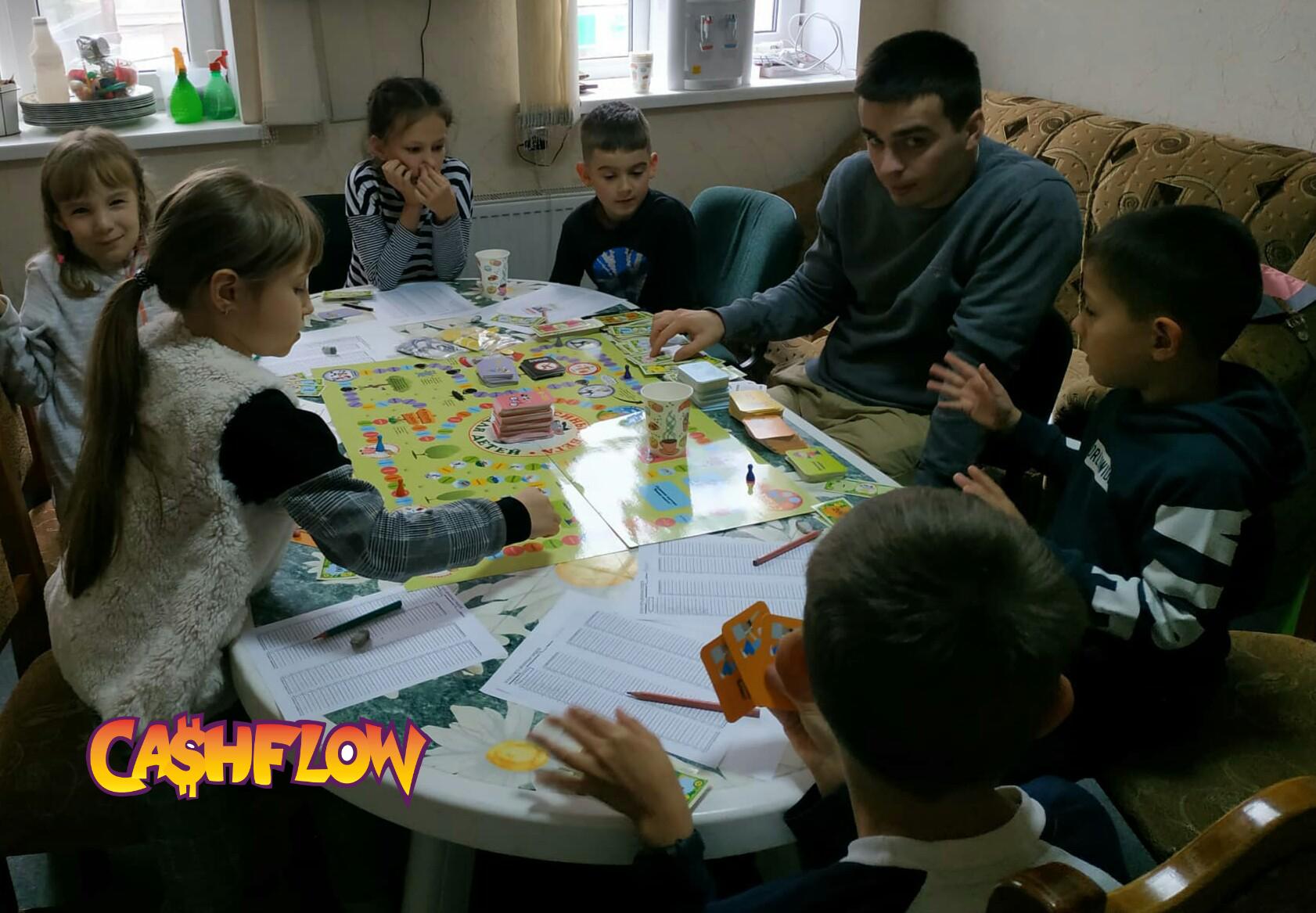 Гра-тренажер cashflow для дітей