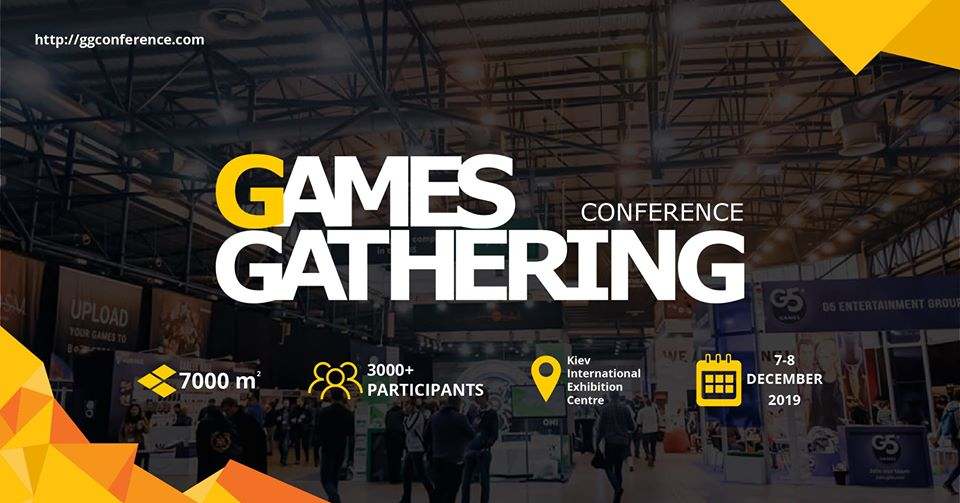 Games Gathering Conference 2019. Kiev