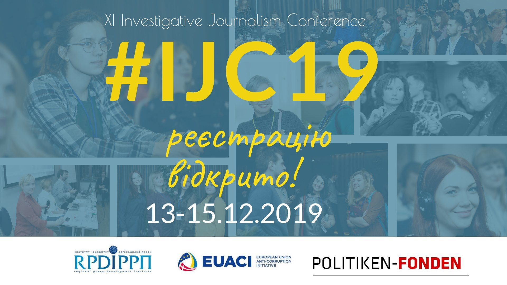 IJC19 – Investigative journalism conference