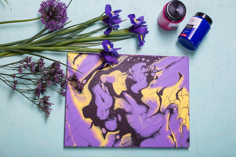 Рідкий акрил – Fluid art