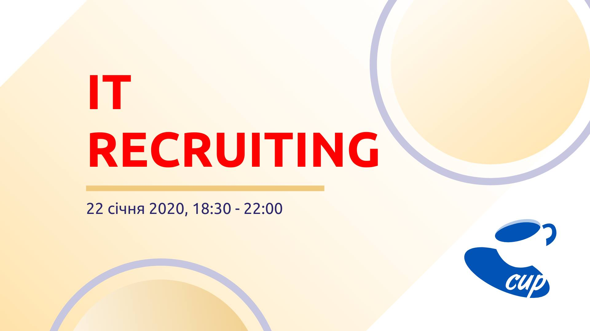 It recruiting