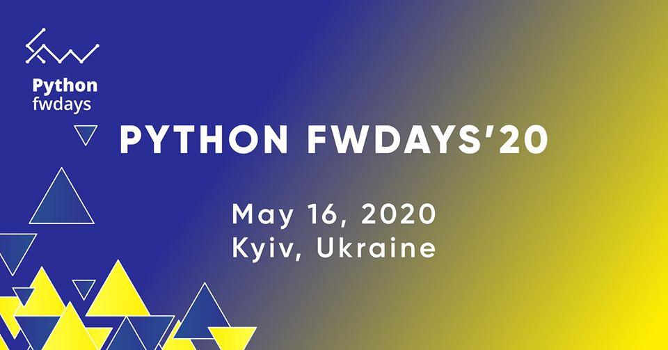Конференція Python fwdays'20